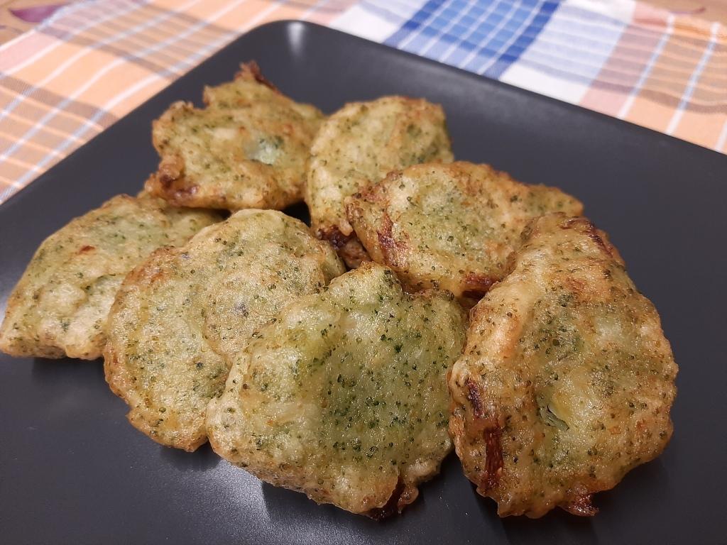 frittelle di broccoli / non solo tofu